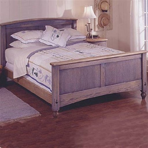 View a Larger Image of Woodworking Project Paper Plan to Build Country-Fresh Bed