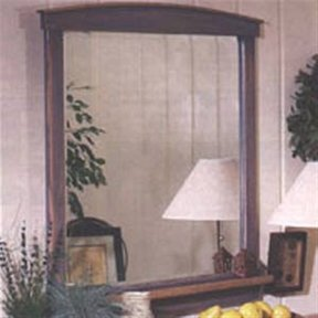 Woodworking Project Paper Plan to Build Country-Fresh Dresser Mirror