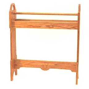 Woodworking Project Paper Plan to Build Country Quilt Rack, AFD250