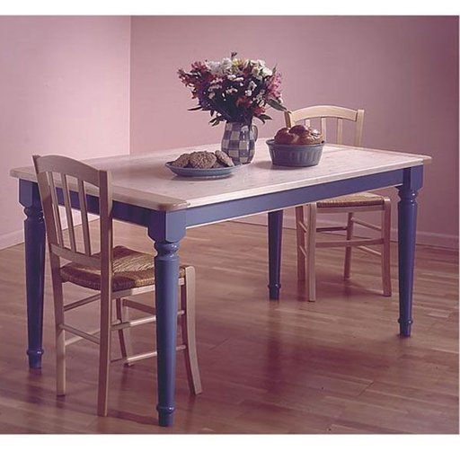 View a Larger Image of Woodworking Project Paper Plan to Build Country-Style Table