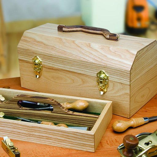 View a Larger Image of Woodworking Project Paper Plan to Build Craftsman's Toolbox