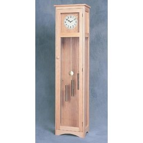 Woodworking Project Paper Plan to Build Craftsman Grandfather Clock, Plan No. 914