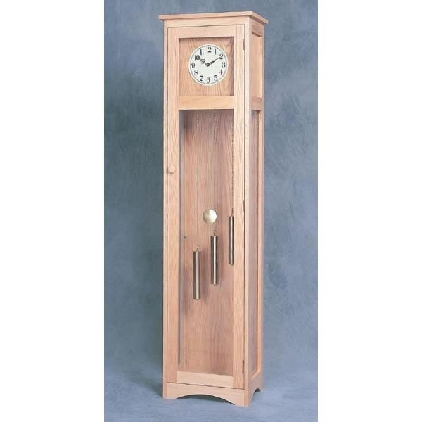 Woodworking project paper plan to build craftsman grandfather clock plan no 914 - Grandfather clock blueprints ...