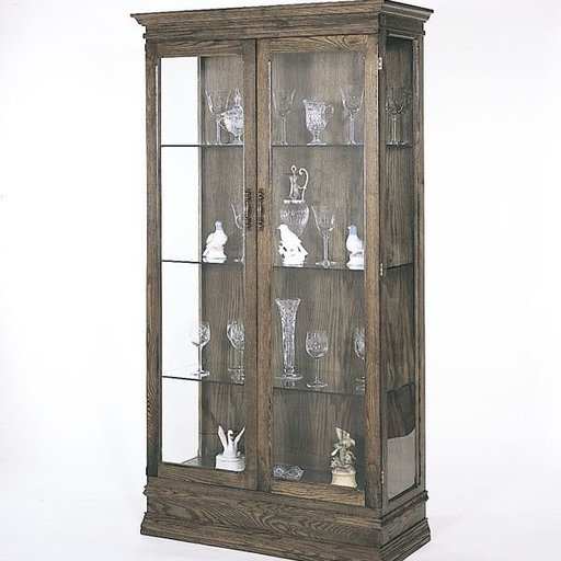 View a Larger Image of Woodworking Project Paper Plan to Build Curio Cabinet