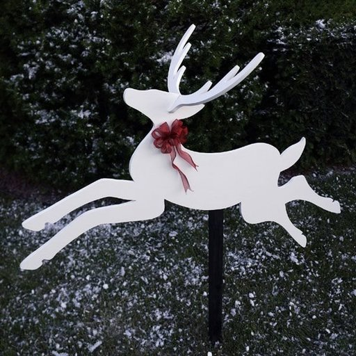 View a Larger Image of Woodworking Project Paper Plan to Build Dashing Deer