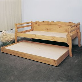Woodworking Project Paper Plan to Build Day Bed, Plan No. 810