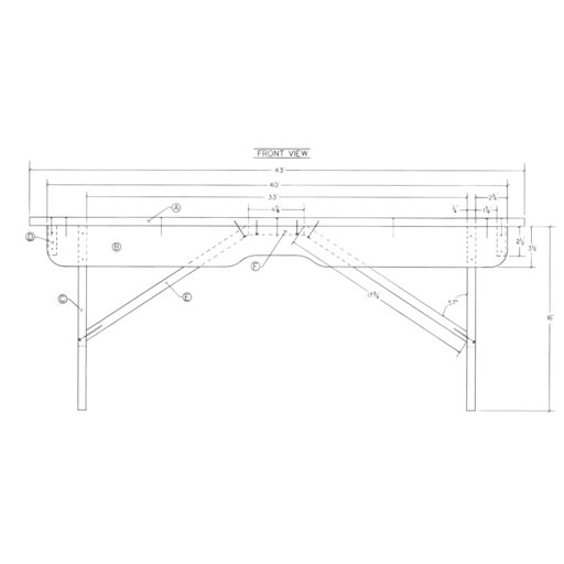 View a Larger Image of Woodworking Project Paper Plan to Build Deacons Bench