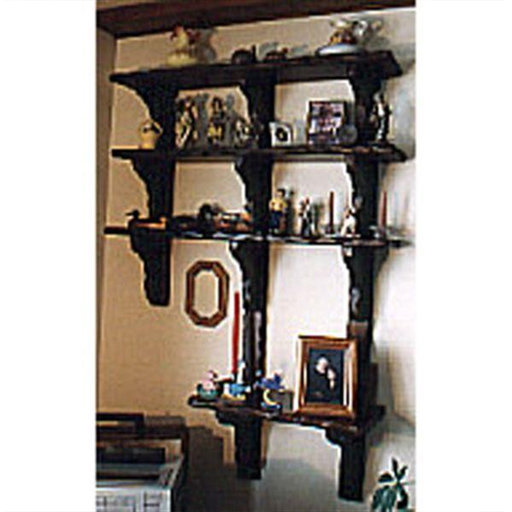 View a Larger Image of Woodworking Project Paper Plan to Build Decorative Shelving