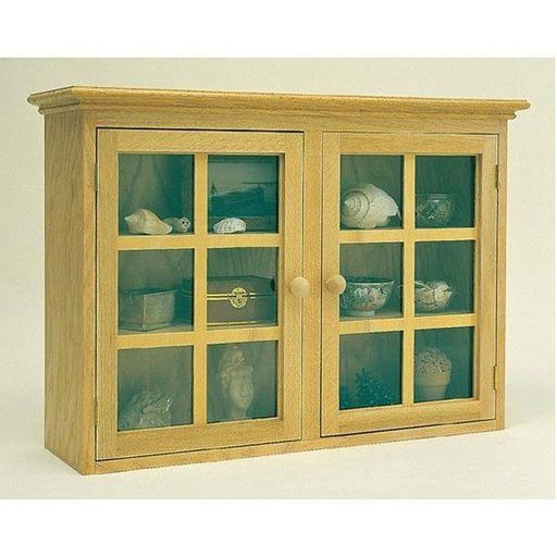 View a Larger Image of Woodworking Project Paper Plan to Build Display Cabinet, Plan No. 865
