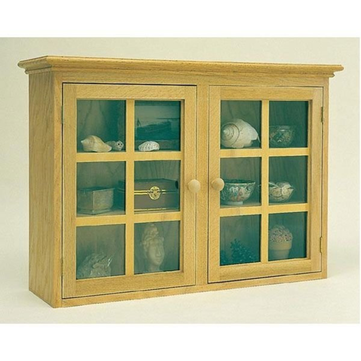 View A Larger Image Of Woodworking Project Paper Plan To Build Display  Cabinet, Plan No