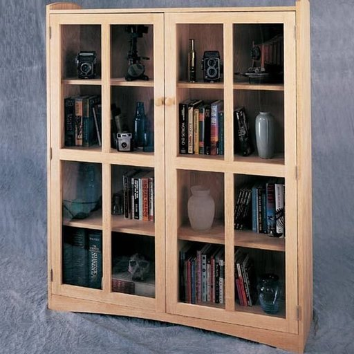 View a Larger Image of Woodworking Project Paper Plan to Build Double Craftsman Bookcase