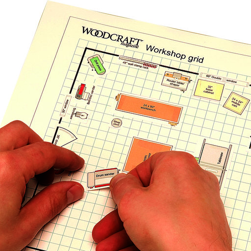 View a Larger Image of Woodworking Project Paper Plan to Build Dream Shop Planner