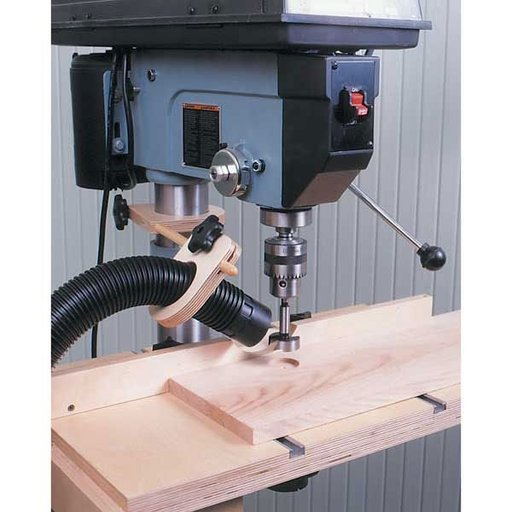 View a Larger Image of Woodworking Project Paper Plan to Build Drill Press Dust Collector