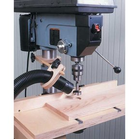 Woodworking Project Paper Plan to Build Drill Press Dust Collector