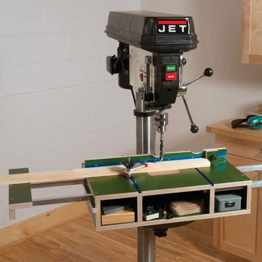 View a Larger Image of Woodworking Project Paper Plan to Build Drill Press Table