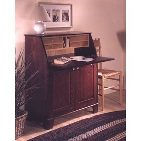 Woodworking Project Paper Plan to Build Drop-Front Writing Desk
