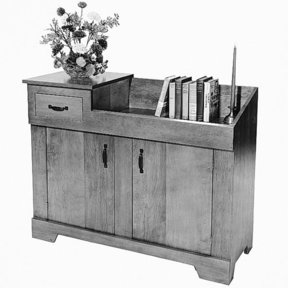 Woodworking Project Paper Plan to Build Dry Sink, Plan No. 307