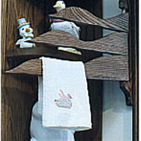 Woodworking Project Paper Plan to Build Duck Towel Hangers