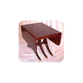 Woodworking Project Paper Plan to Build Duncan Phyfe Dining Table, AFD150