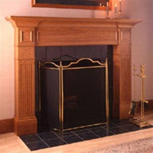 View a Larger Image of Woodworking Project Paper Plan to Build Fabulous Fireplace Surround
