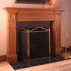 Woodworking Project Paper Plan to Build Fabulous Fireplace Surround