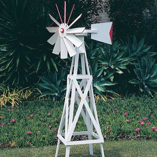 View a Larger Image of Woodworking Project Paper Plan to Build Farm-Style Windmill, Plan No. 695