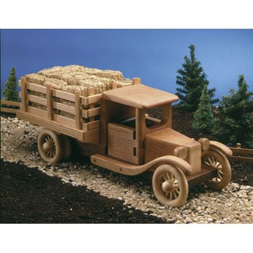 View a Larger Image of Woodworking Project Paper Plan to Build Farm Truck