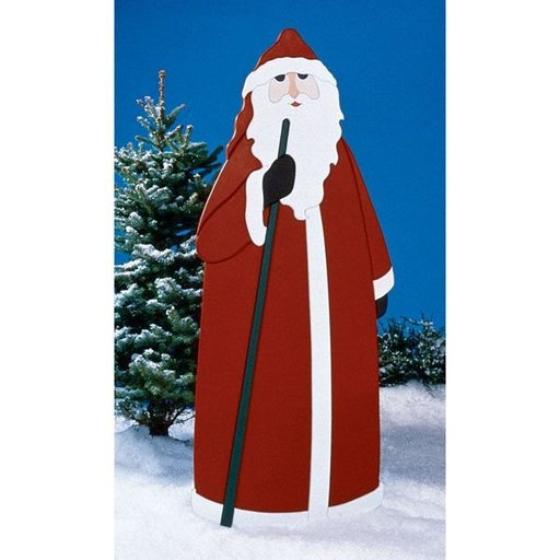 View a Larger Image of Woodworking Project Paper Plan to Build Father Christmas