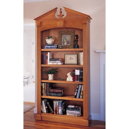 View a Larger Image of Woodworking Project Paper Plan to Build Federal Bookcase