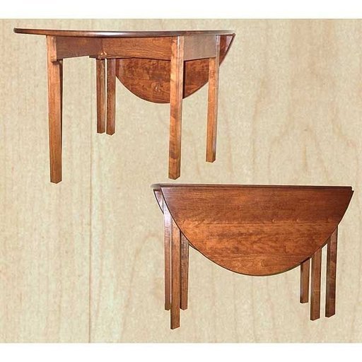 View a Larger Image of Woodworking Project Paper Plan to Build Federal Style Gate Leg Table, AFD148