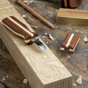 Woodworking Project Paper Plan to Build Fine-Line Marking Knife