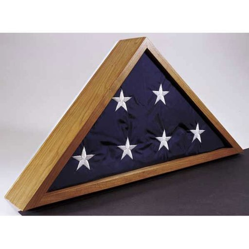 View a Larger Image of Woodworking Project Paper Plan to Build Flag Case
