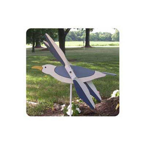 View a Larger Image of Woodworking Project Paper Plan to Build Flying Seagull Whirligig