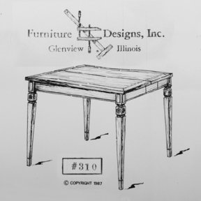 Woodworking Project Paper Plan to Build Folding Card Table