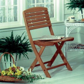 Woodworking Project Paper Plan to Build Folding Chair