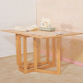 Woodworking Project Paper Plan to Build Folding Work Table, Plan No. 832