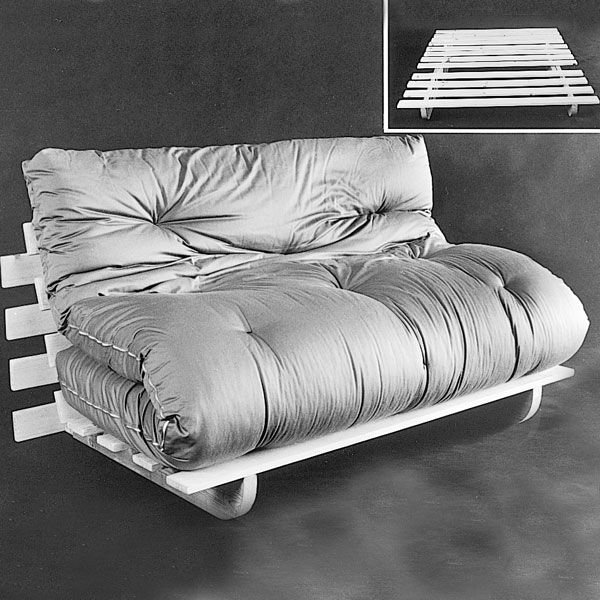Woodworking Project Paper Plan to Build Futon Frame Plan No 809