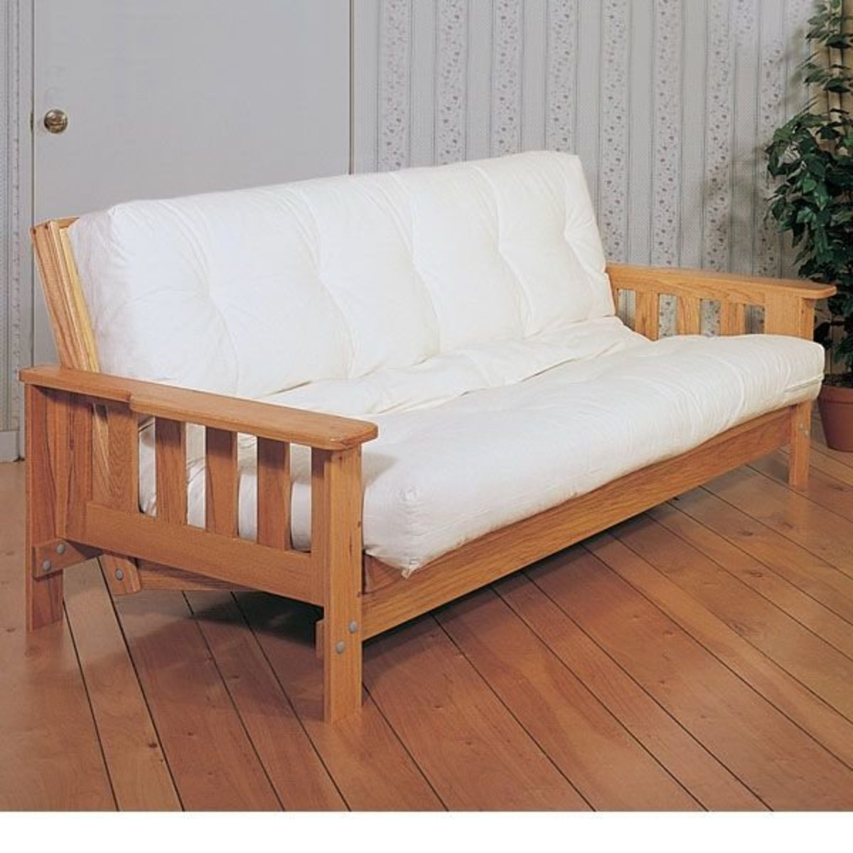 View A Larger Image Of Woodworking Project Paper Plan To Build Futon Sofabed