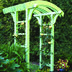 View a Different Image of Woodworking Project Paper Plan to Build Garden Arbor and Gate