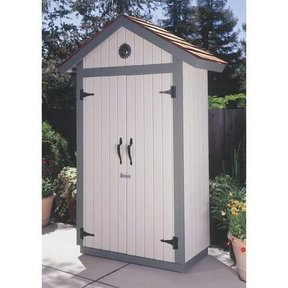 Woodworking Project Paper Plan to Build Garden Shed, Plan No. 930