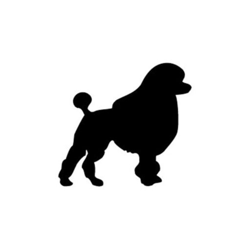 View a Larger Image of Woodworking Project Paper Plan to Build Giant Poodle Dog Shadow