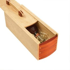 Woodworking Project Paper Plan to Build Gift-Perfect Wine Box