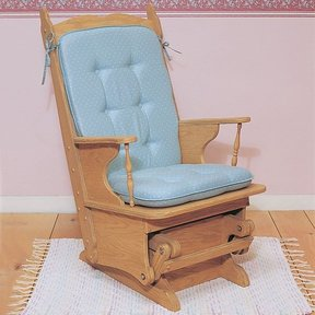 Woodworking Project Paper Plan to Build Glider Rocker, Plan No. 853