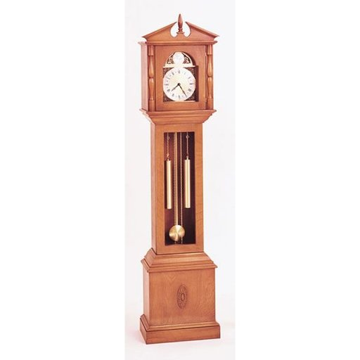 View a Larger Image of Woodworking Project Paper Plan to Build Granddaughter Clock, Plan No. 485
