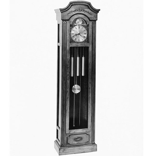 View a Larger Image of Woodworking Project Paper Plan to Build Grandfather Clock