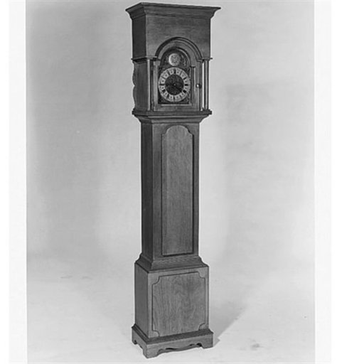 View a Larger Image of Woodworking Project Paper Plan to Build Grandmother Clock, Plan No. 320