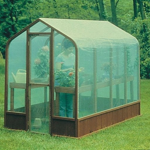 View a Larger Image of Woodworking Project Paper Plan to Build Greenhouse, Plan No. 557