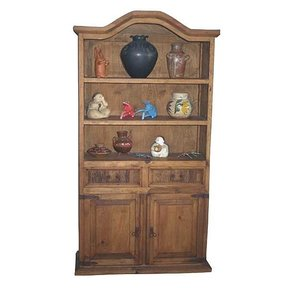 Woodworking Project Paper Plan to Build Hacienda Bookcase with Drawers, AFD294