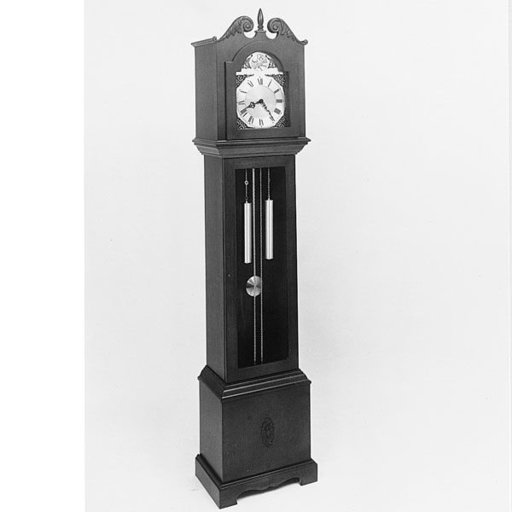 View a Larger Image of Woodworking Project Paper Plan to Build Hall Clock , Plan No. 464