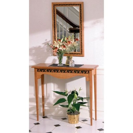 View a Larger Image of Woodworking Project Paper Plan to Build Hall Table & Mirror